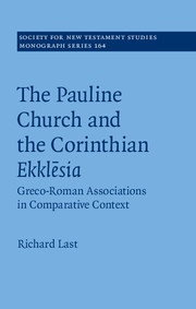The Pauline Church and the Corinthian Ekklēsia