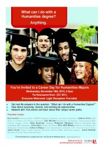 HUMA Career Day Flyer 2015