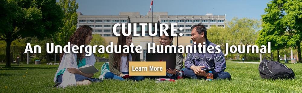 CULTURE: An Undergraduate Humanities Journal