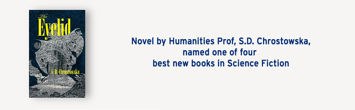 Novel by Humanities Prof. named one of four best new books in Science Fiction